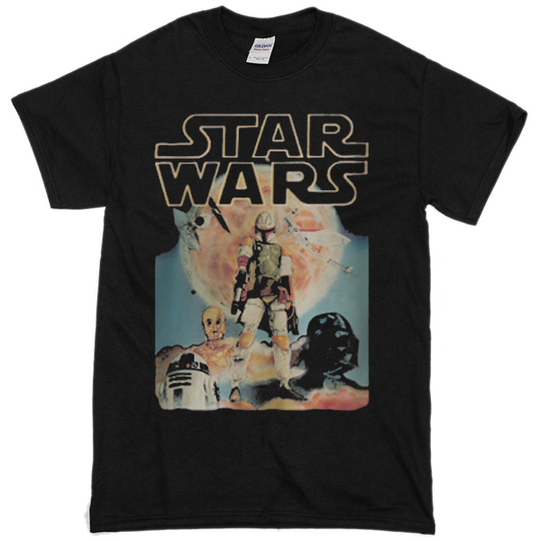 dc5bca03 Vintage-Star-Wars T shirt - clothzee