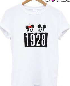 1928 Mickey and Minnie Mouse T-Shirt