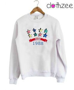 1988 Coca Cola Raibow Sweatshirt