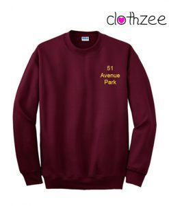 52 Avenue Park Best Sweatshirt