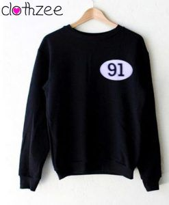 91 Black Sweet Sweatshirt