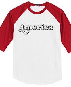 America Long T-Shirt