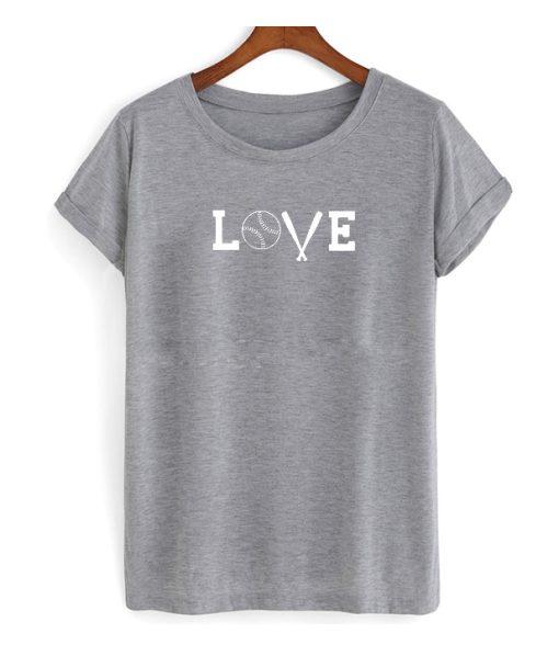 BAseball Love T Shirt