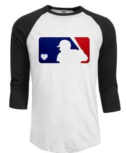 Baseball Love Logo T-Shirt