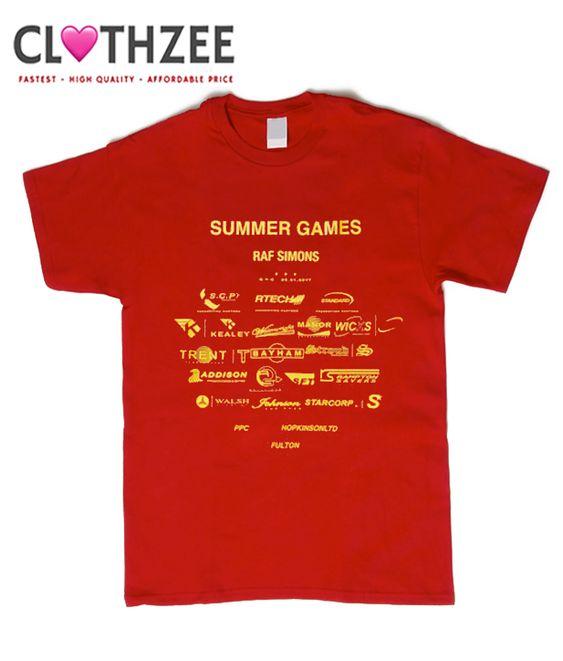 8940c4a24816 Raf Simons Summer Games T-Shirt