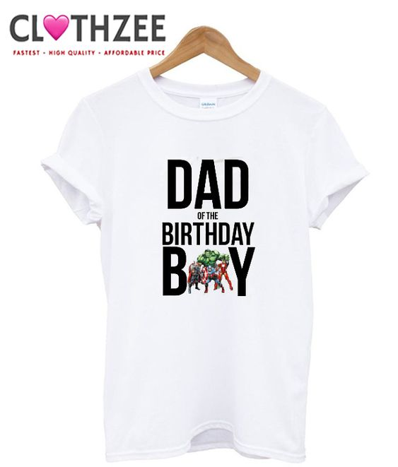 Superhero Birthday T Shirt