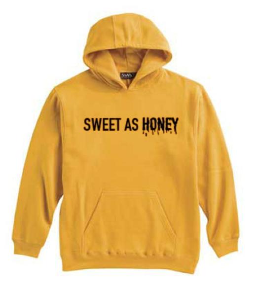 9aa7d3bbd Sweet as Honey Yellow Hoodie - clothzee