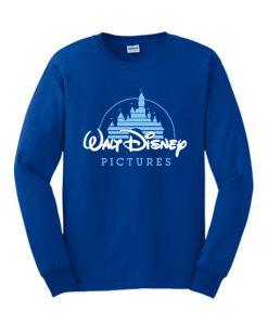 Walt Disney Pictures Logo Blue Sweatshirt