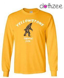 Yellowstone National Park Sweatshirt