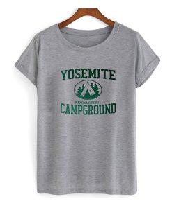 Yosemite Campground T-shirt