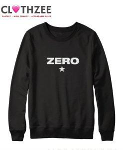 Zero star sweatshirt