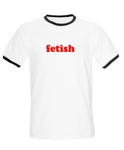 fetish ringer t-shirt