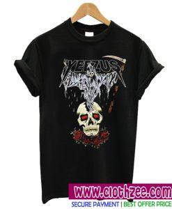yeezus death skull t-shirt