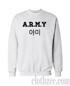 A.R.M.Y BTS Crewneck Sweatshirt