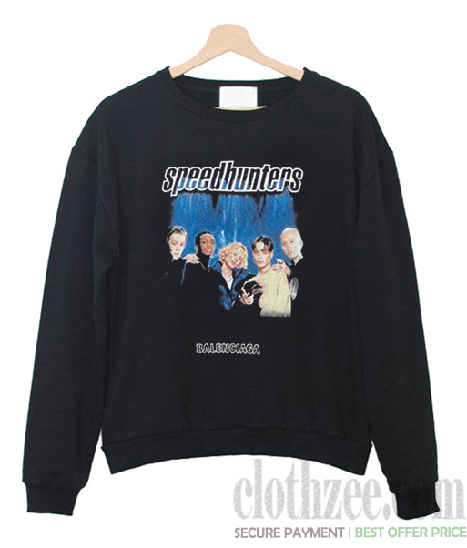 balenciaga speedhunters hoodie