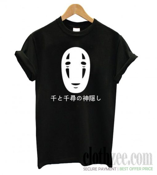Spirited Away No Face Kaonashi Harajuku Trending T shirt