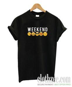 Weekend Emoji Trending T-shirt