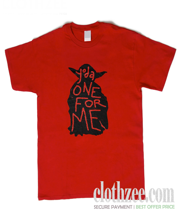 Yoda One For Me Trending T Shirt