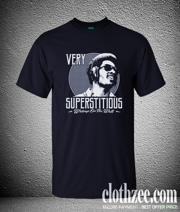 STEVIE WONDER SUPERSTITIOUS WRITINGS ON THE WALL Trending T SHirt