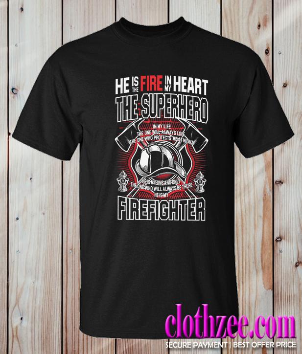 Super Hero Firefighter Trending T Shirt