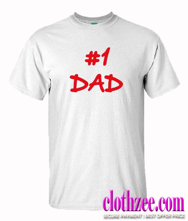 1 Dad Trending T Shirt