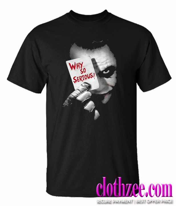 Herren Joker Why So Serious Trending T shirt