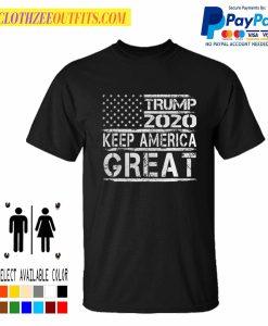 Trump 2020 flag keep america great again Best Trending T-Shirt