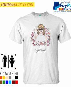 Taylor Swift Flower Best Trending T-Shirt