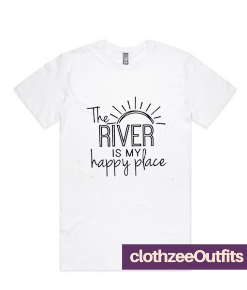 The River My Happy Place Shirt Dress Outfit